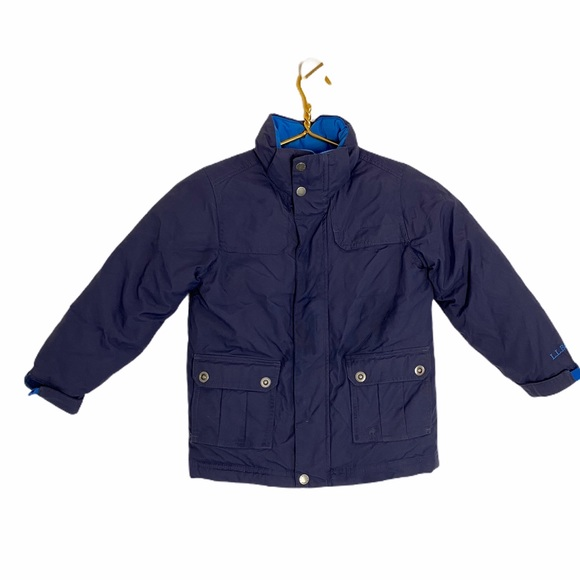 L.L. Bean Toddler Boys Down Winter Ski Jacket